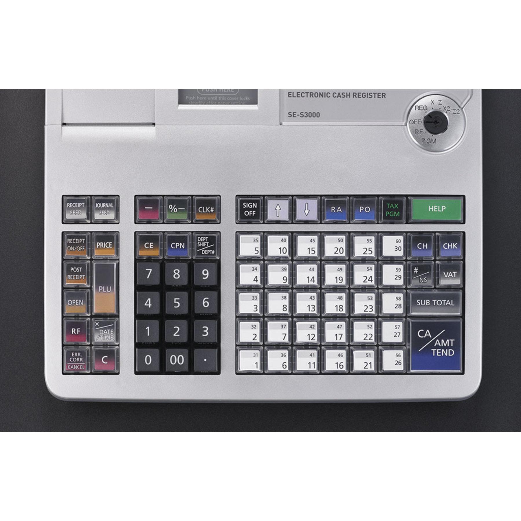 Casio Se S3000 Dual Station Cash Register Cash Drawers