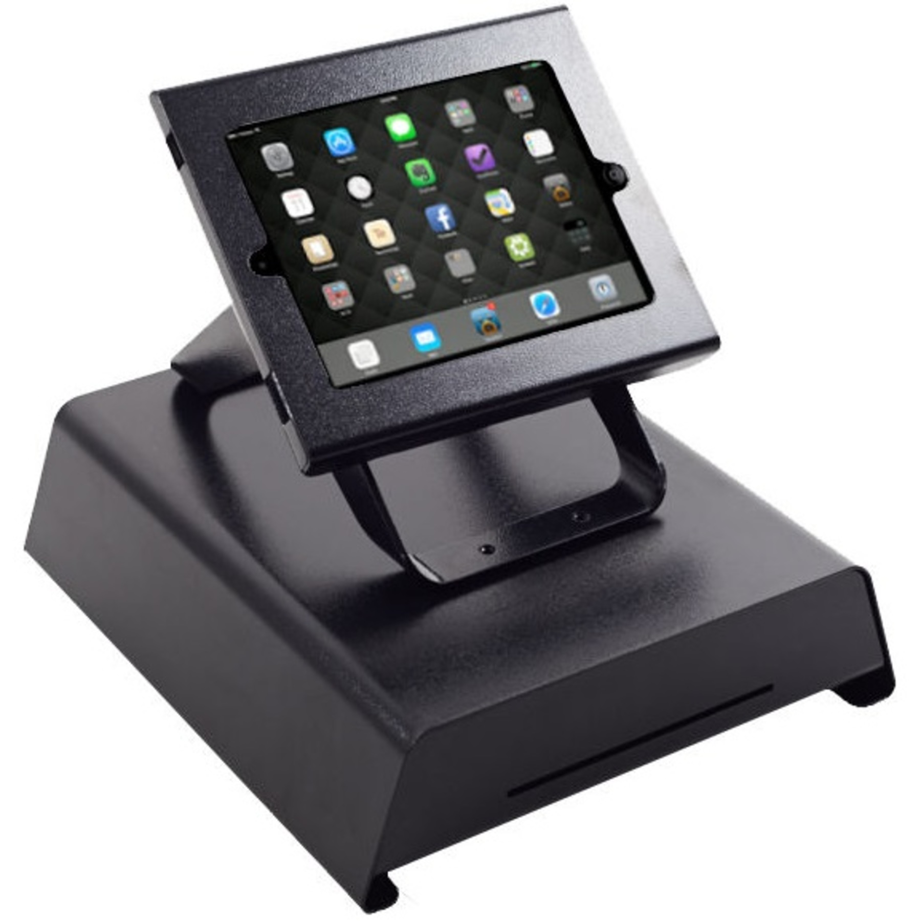 Cx350 Cash Drawer With Ipad Stand Cash Drawers Ireland