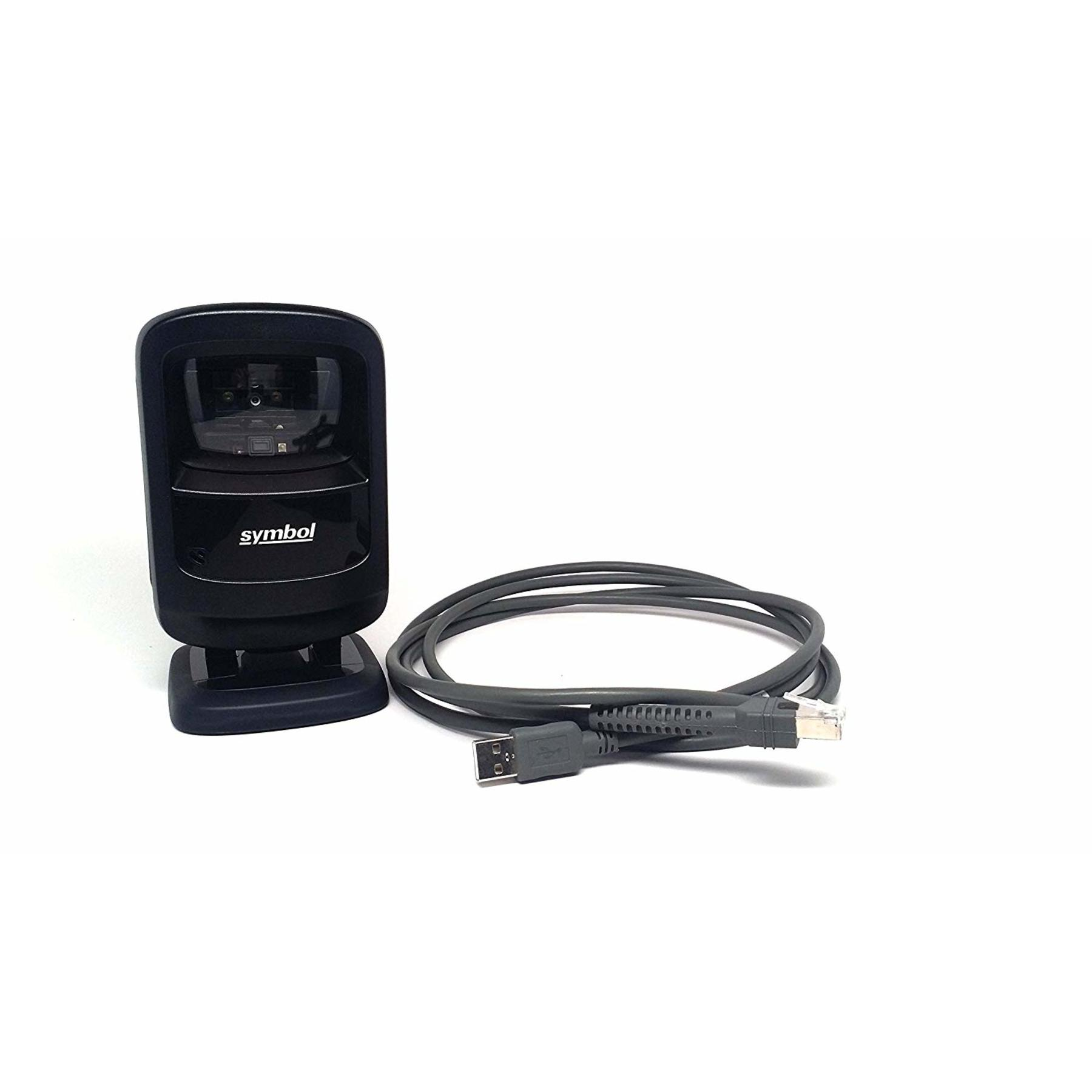 Zebra Ds9208 Omnidirectional Usb Barcode Scanner Black Cash
