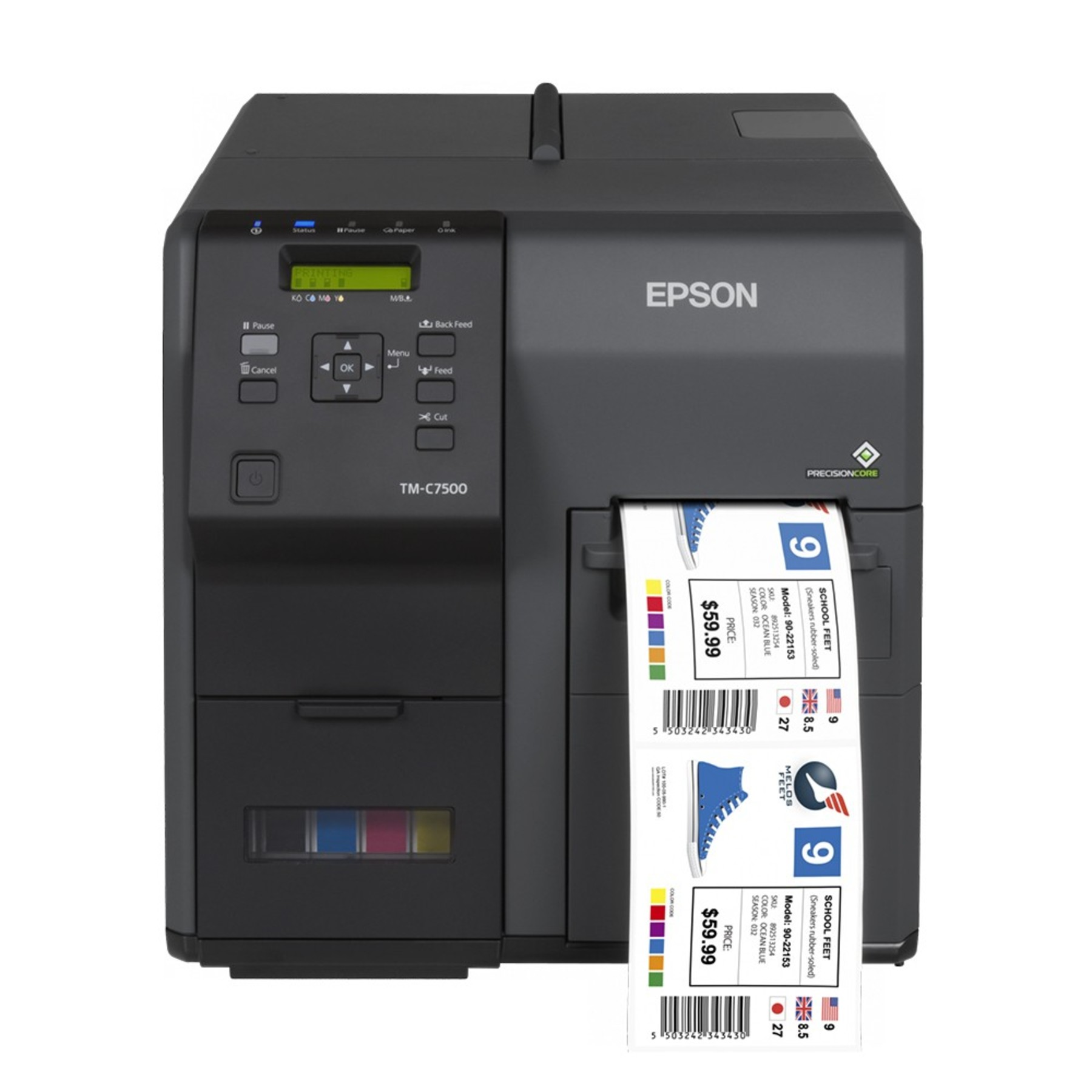 It's just a picture of Smart Manufacturing Label Printing Software