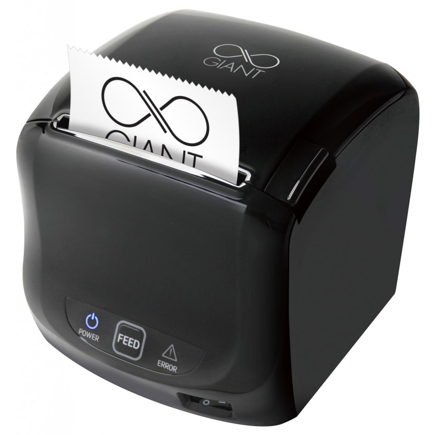 Sam4s Giant 100 Black Thermal Receipt Printer Cash