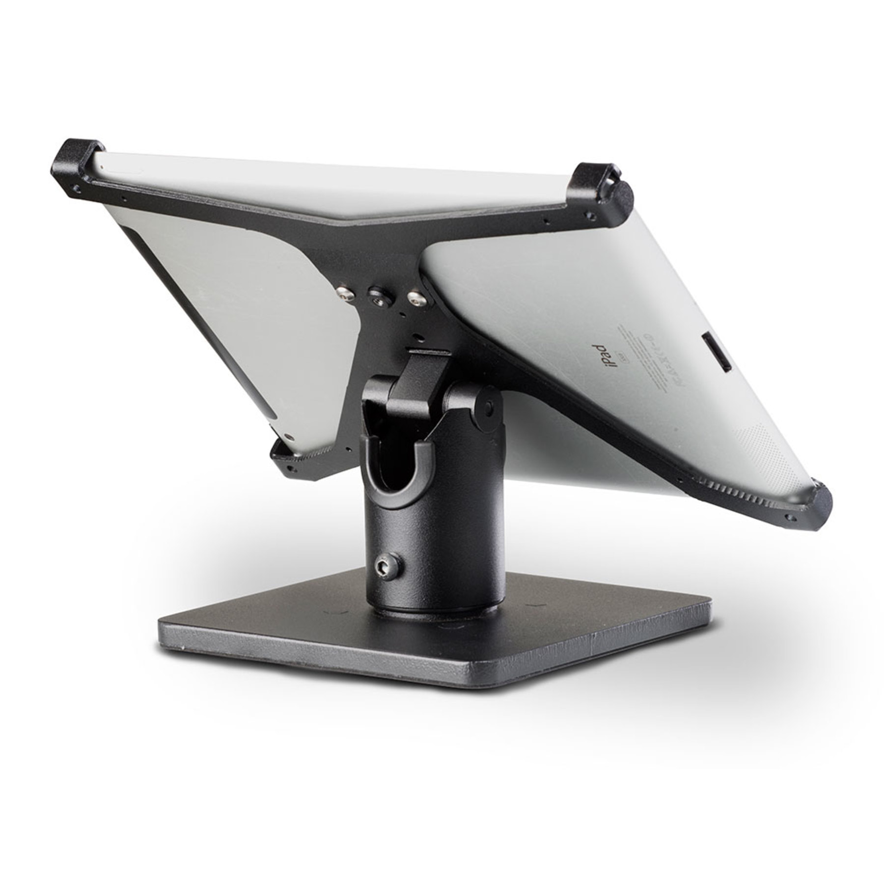Spacepole X Frame Secure Ipad Tablet Stand Cash Drawers