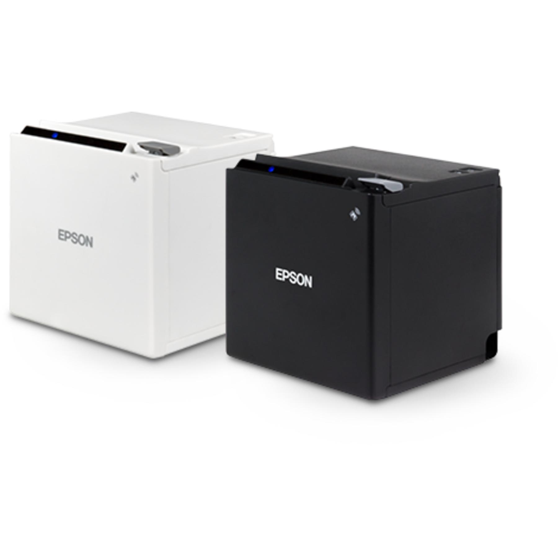 Epson Tm M30 White Thermal Receipt Printer Cash Drawers