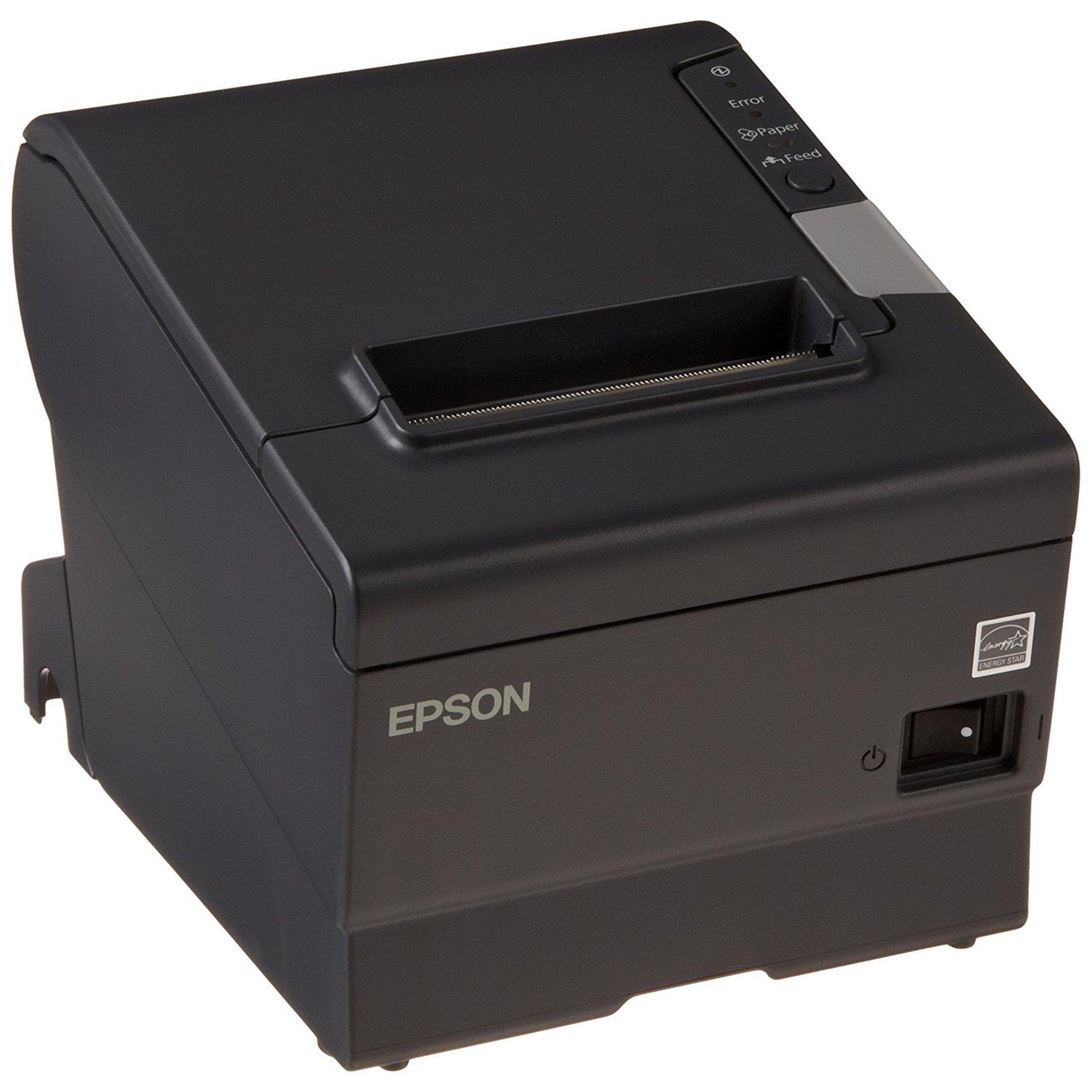 Epson Tm T88v Usb Amp Bluetooth Thermal Receipt Printer