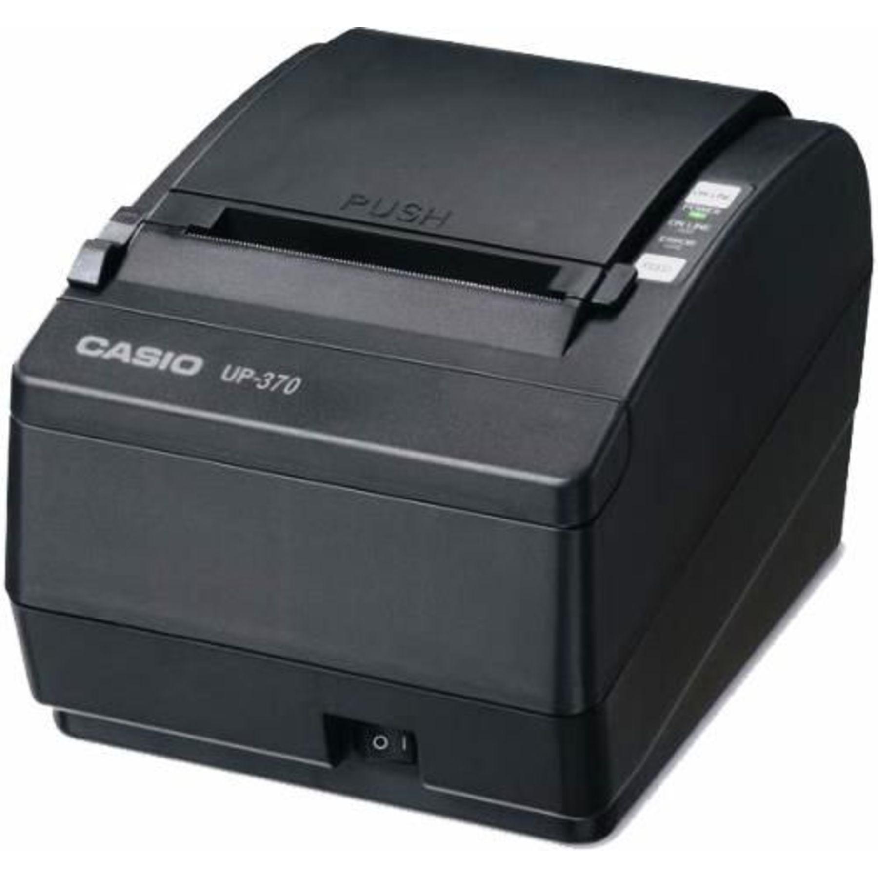 Casio Up 370 Thermal Receipt Printer Cash Drawers Ireland
