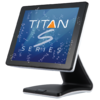 Sam4s Titan S260 Black and White Touchscreen POS System - 4193