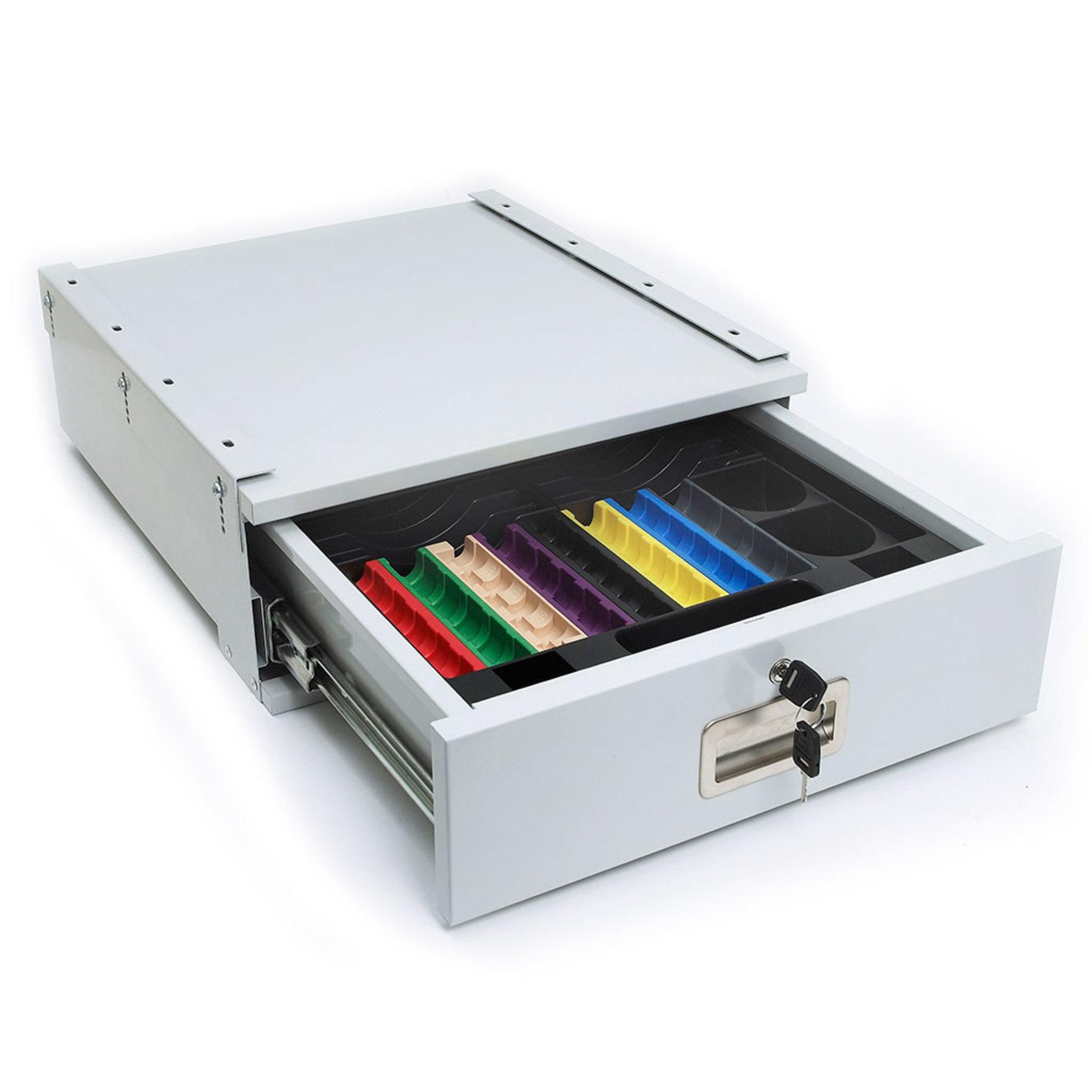 hdc180 heavy duty under counter cash drawer cash drawers. Black Bedroom Furniture Sets. Home Design Ideas