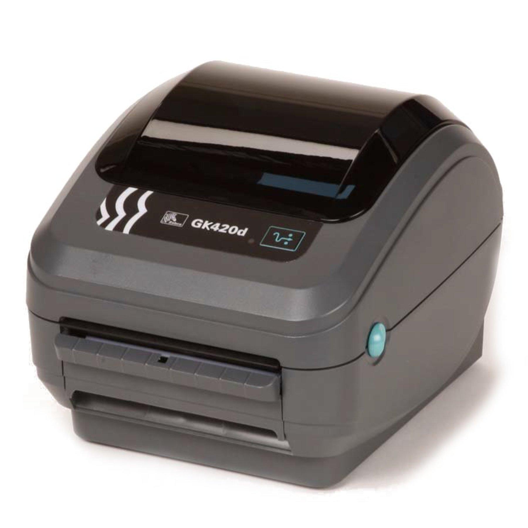 Zebra Gk420d Usb Serial Thermal Barcode Amp Label Printer
